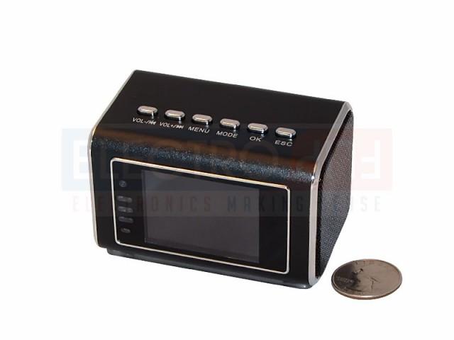 Spy Clock Camera Hidden Clock Camera Mini Speakers