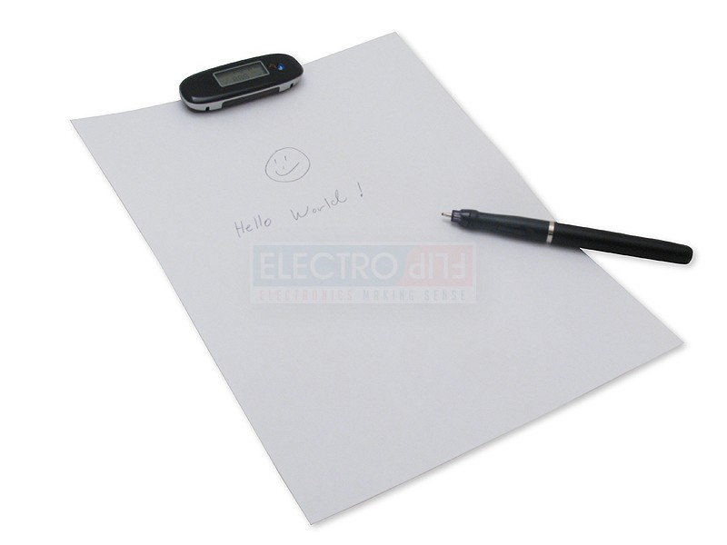 Handwriting to Text Recognition Pen