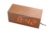 Wooden Digital Clock Device