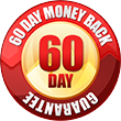 60 day money back guarantee!