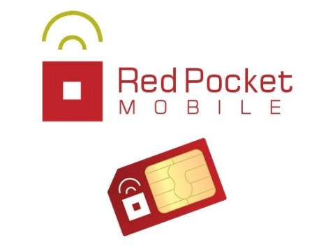Red Pocket NO CONTRACT Prepaid Mobile Unlocked GSM Red Pocket SIM Card - NEW at Sears.com