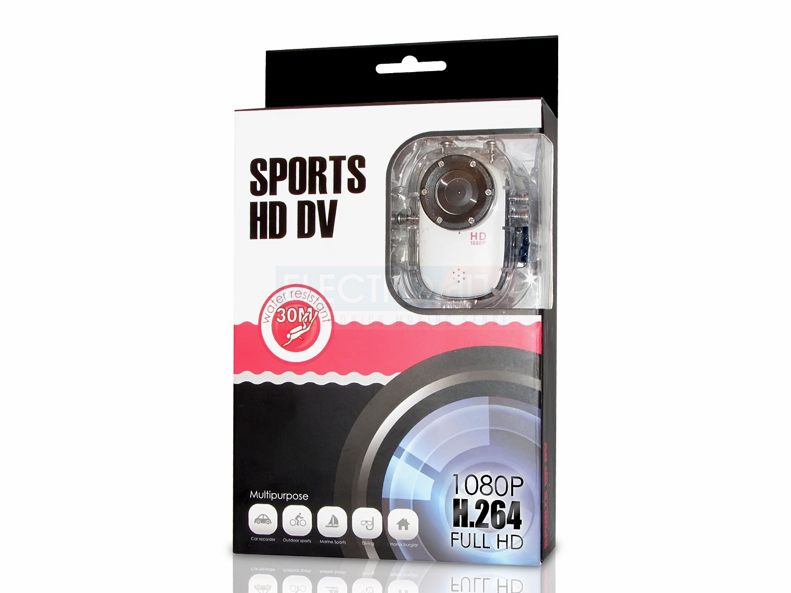 HD Video Camera Retail Box