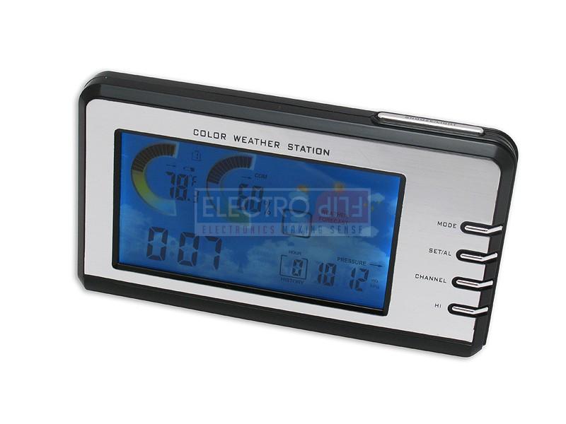 WeatherVU - Color Clock Weather Station